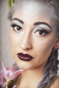 Silver make up Stina Ekelund