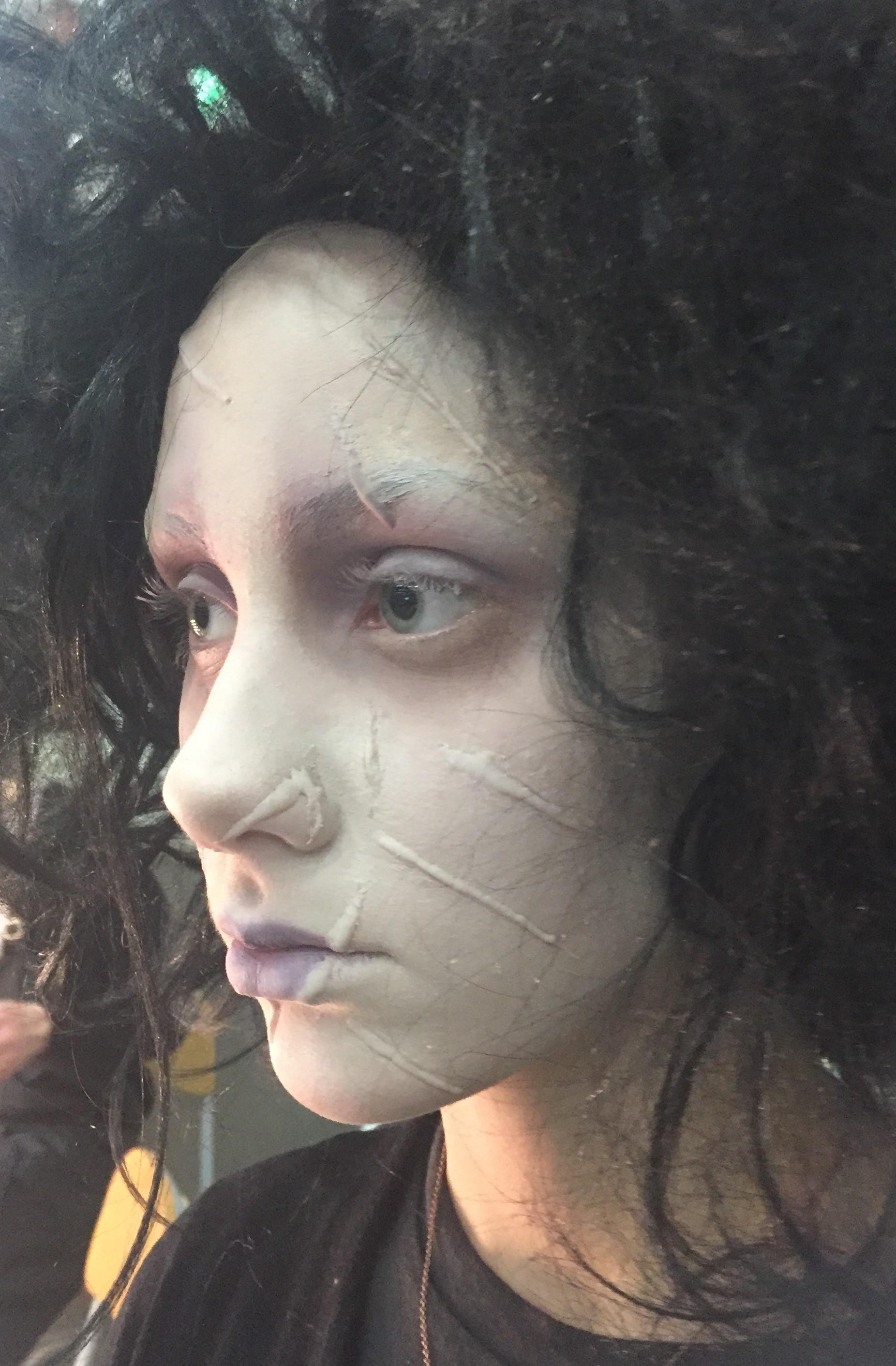 Halloween Sminkning Joker.Maskerad Halloween Art Of Make Up School